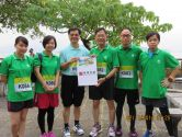 Participation of Heifer's Race to Feed 2014 by Ryoden Development Group